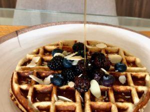 Coconut Flour & Banana Fit Waffles