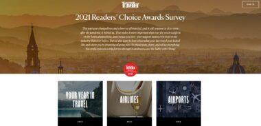 Ayúdanos con Tu Voto para Conde Nast Traveler Readers' Choice